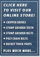 Visit our NEW Online Parts Store to find high quality parts for your Arborist equipment at great prices.